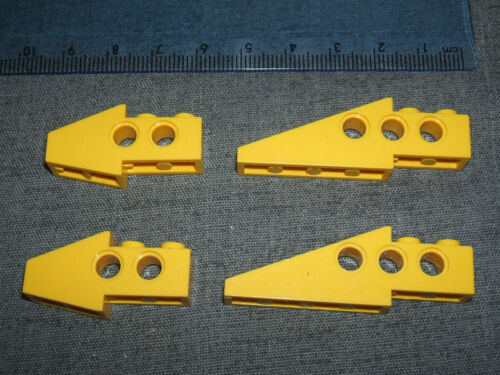 Shaped Brick with Holes YELLOW No 2744 LEGO TECHNIC 4 X Slope Wing Beam