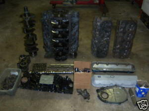 454 7 4 Gen 6 Big Block Chevy Engine Parts Ebay
