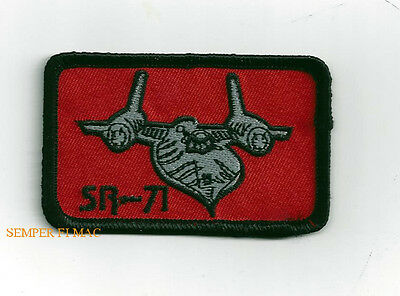 SR-71 BLACKBIRD HAT PATCH US AIR FORCE SKUNK WORKS PIN UP AFB PILOT GIFT WOW
