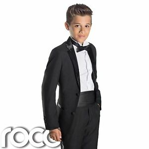 Boys Black Tuxedo, Boys Dinner Suit, Prom Suits, Boys Wedding