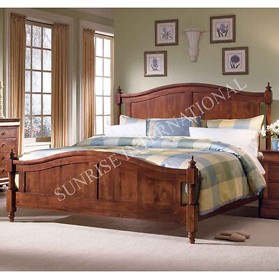 Contemporary Wooden King / Queen / Single Bed (SUN-WBED768)