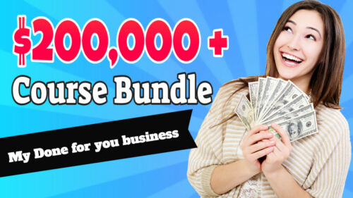 My Done for you website business £1.997 ALL My listings £200,000 Course Bundle