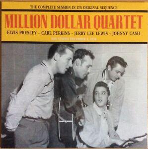 Million Dollar Quartet Vinyl Lp Elvis Presley Cash Lewis