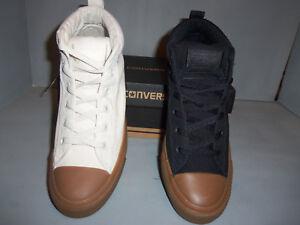 d84b065318de Mens Converse Chuck Taylor All Star Street Mid Lace Up Shoes ...