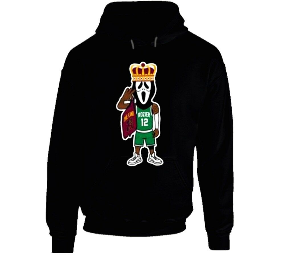 Scary Terry Rozier Boston Basketball Cool Gift Idea Hoodie