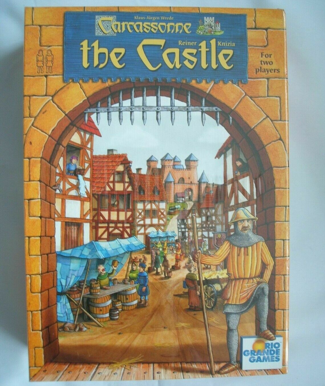 BRAND nouveau AND SEALED voitureCASSONNE  THE CASTLE BOARD GAME FROM RIO GRANDE GAMES  gros prix discount