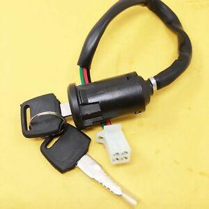 Ignition Key Switch For Eton Viper Sierra Impuls Rascal 50cc 70cc 90cc Quad ATV
