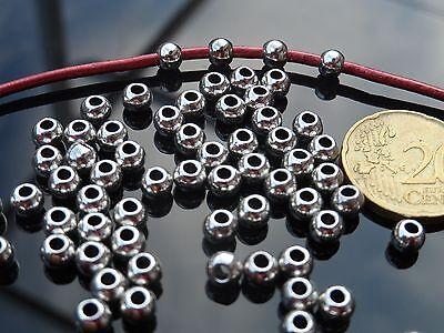 bisuteria bola cuentas abalorios De 35 a 525 Bolas Zamak B23-17 A.2,7mm