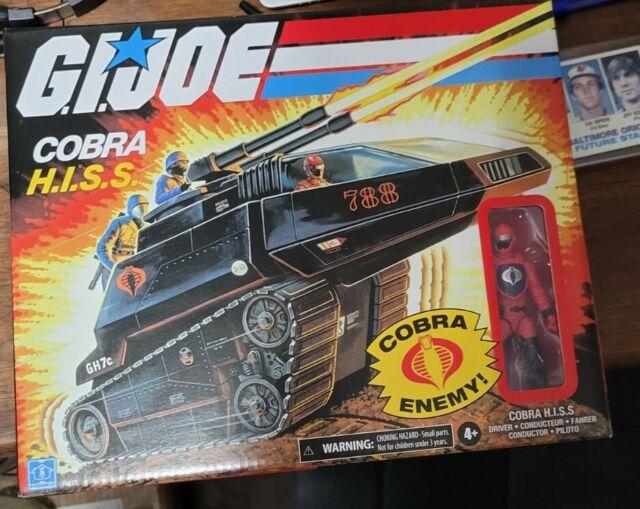 Hasbro G.I. Joe Cobra Hiss Tank With Driver Figure Walmart Exclusive