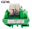 GEYA-4-Channel-Omron-Relay-Module-2NO2NC-DPDT-PLC-RELAY-Interface-12-24V-AC-DC miniature 4