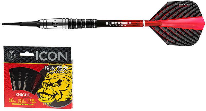 Darts HARROWS ICON Takehiro Suzuki Knight Softdarts - Dart Set