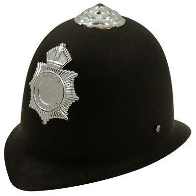 ADULT SIZE POLICE POLICEMAN HELMETS HARD HAT STAG NIGHT FANCY DRESS H02 275