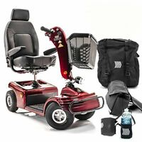 Shoprider Sunrunner 4 Wheel Scooter Mobility 888b-4 With Free Accessories