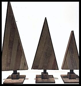 Set-of-3-Wooden-Triangle-Christmas-Trees-Recycled-Barn-Wood-Trees-30-034