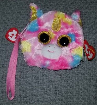 Ty Gear:Fantasia the Unicorn wristlet coin purse.