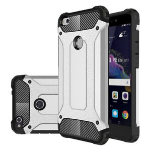 big sale 93ee6 398d2 Details about Shockproof Case Cover Case Neo Hybrid Huawei P8 Lite (2017)  5.2