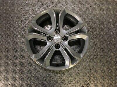 12 17 Peugeot 208 16 Inch 5 Spoke 4 Stud Alloy Wheel 60j16 Ch4 23 Ebay