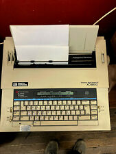 Smith Corona Xd 8500 Model Portable Electric Typewriter Withcover Tested Working
