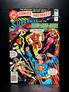 COMICS-DC-Comics-Presents-13-1979-Superman-amp-Legion-of-Super-Heroes-RARE