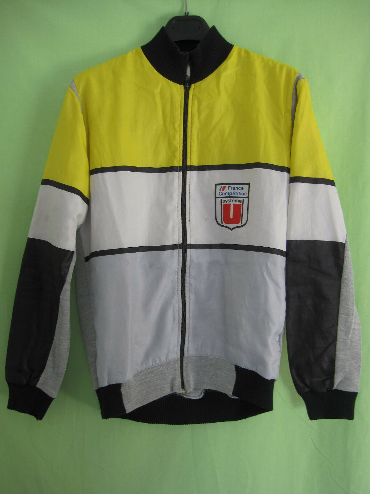 Veste cycliste Systeme U France competition Equipe Pro 80'S Hiver Jersey - M
