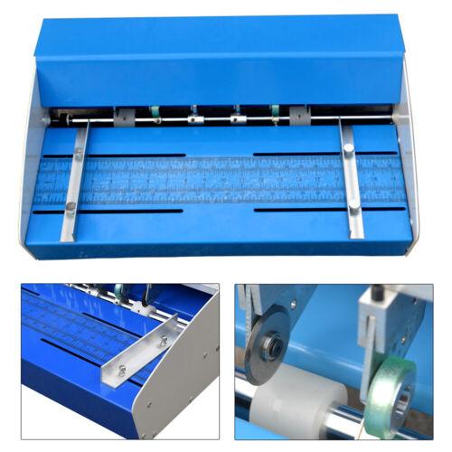 """18/"""" Elektrische Nutmaschine Rillmaschine Rillgerät Perforating Falzmaschine DHL"""