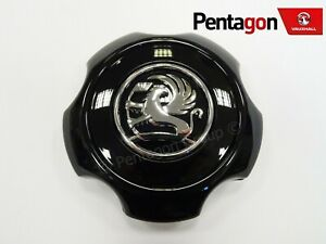 CAP BLACK NEW 13306794 GENUINE Vauxhall CORSA D ALLOY WHEEL CENTRE HUB