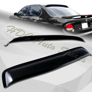 For 2000 2003 Nissan Maxima Black Acrylic Rear Window Roof Visor Spoiler Wing Ebay