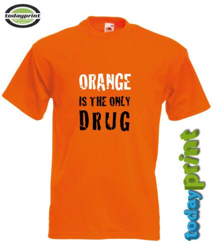 T Shirt ORANGE DRUG Enduro Dirt Supermoto ktm für zb Adventure Cross Fans
