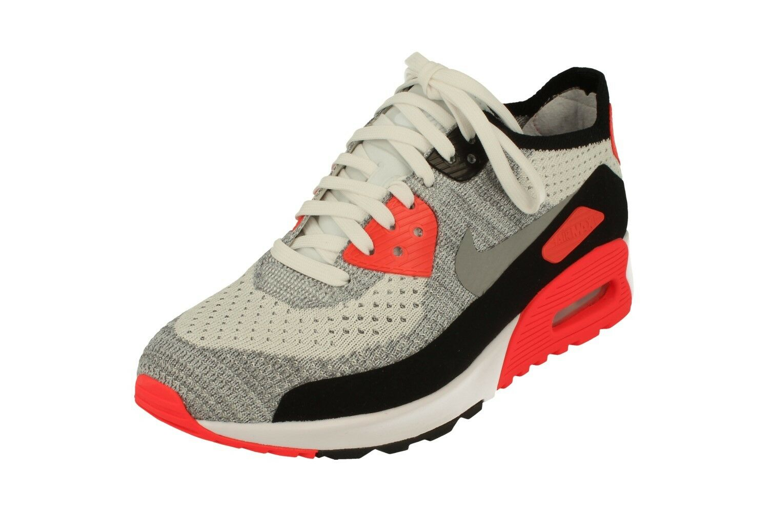 Nike Nike Nike Womens Air Max 90 Ultra 2.0 Flyknit Running Trainers 881109 100 Sneakers a7cb9d
