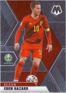 PANINI EURO 2021 MOSAIC EDEN HAZARD BASE CARD NO 17