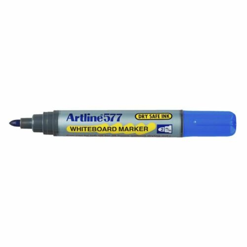 Artline 577 Whiteboard Marker Blue 12 Pack