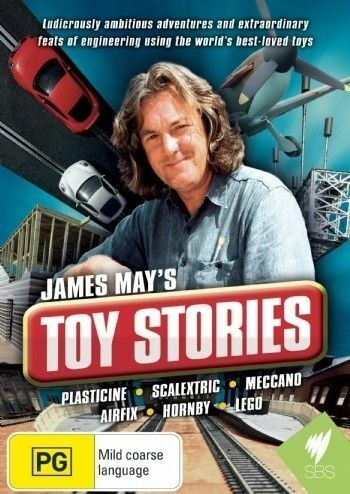 1 of 1 - James May's Toy Stories (DVD, 2010, 2-Disc Set)