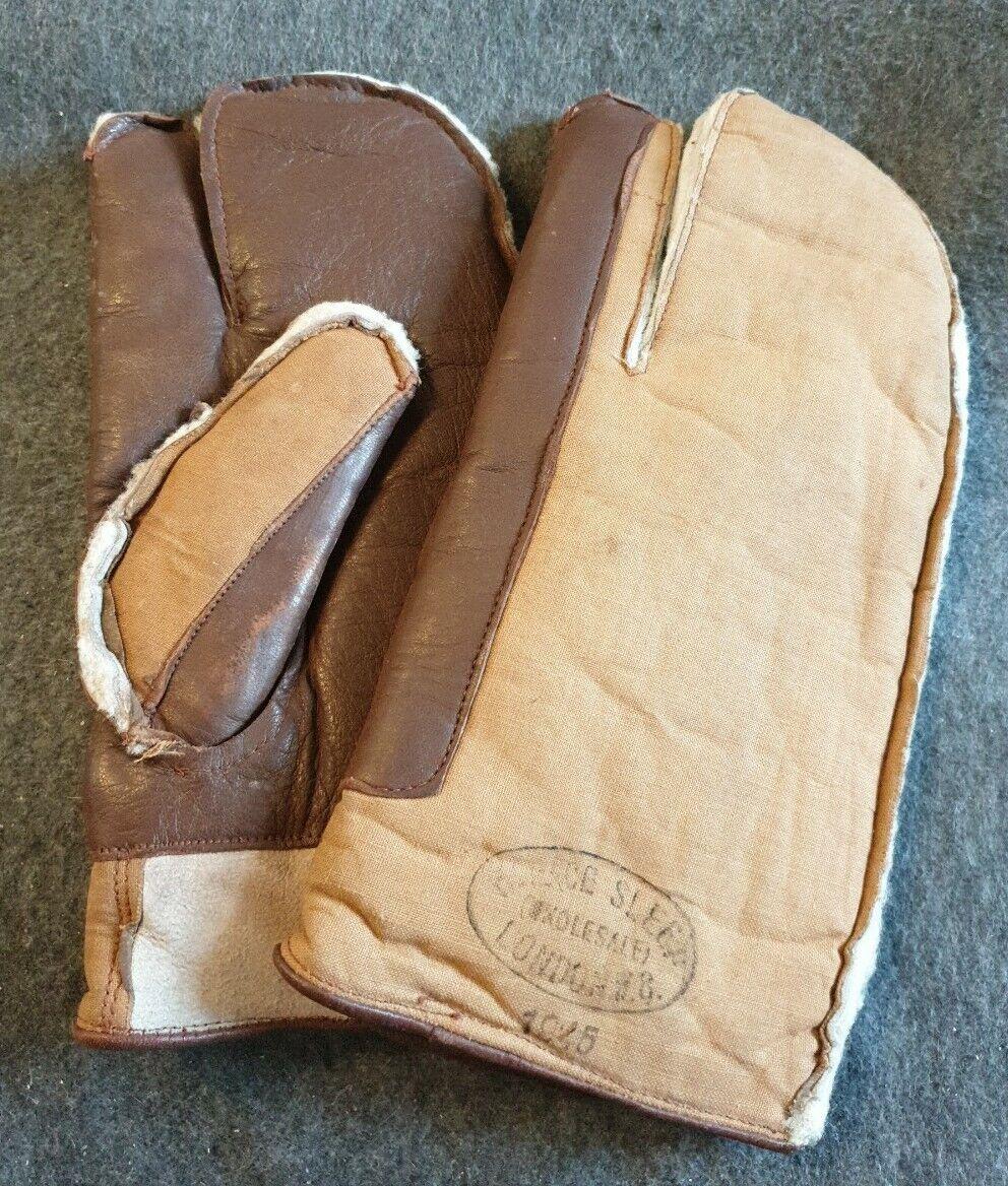 1945 Leather & Sheepskin Mitten's