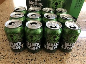 BUD-LIGHT-AREA-51-SPECIAL-EDITION-CANS-12-CANS-WITH-BOX-ALIEN-BEER