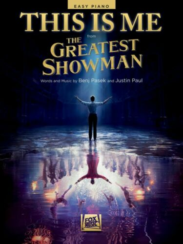 This Is Me from The Greatest Showman Sheet Music Easy Piano NEW Ben 000285664