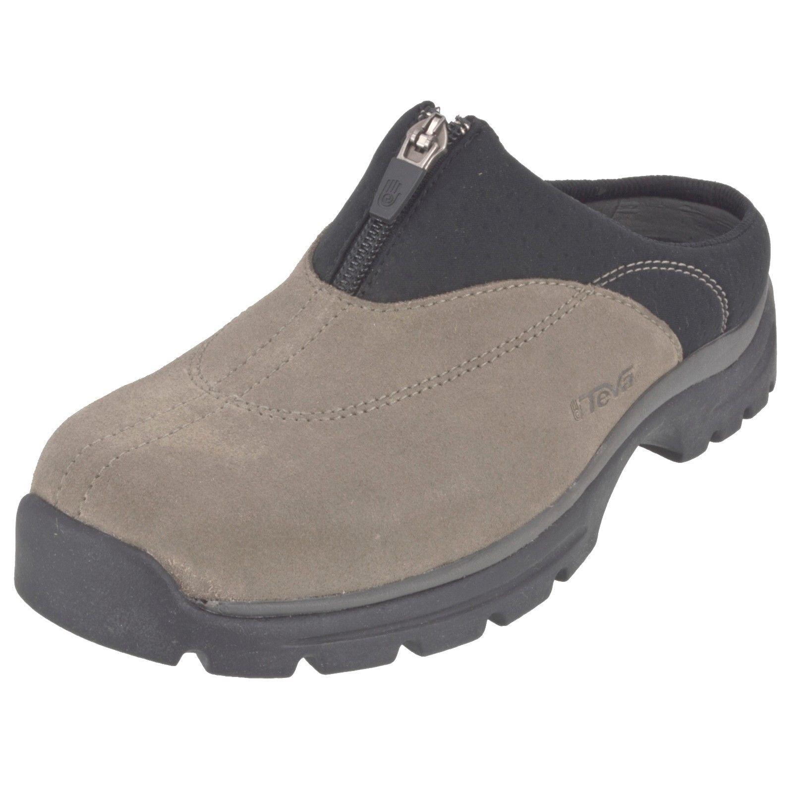 Teva 6447 Para Mujer Nuevo En Caja sheeba Gamuza Gamuza Gamuza obstruir Zapato nos 7  precio al por mayor