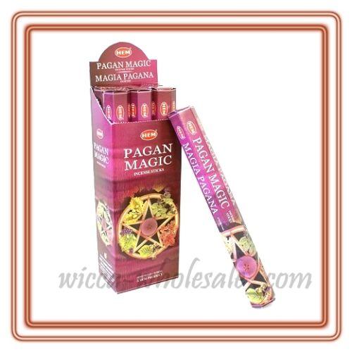 LOT OF 80 Stick PAGAN MAGIC Incense HEM ~ 4 TUBE OF 20 Sticks = 80 FRESH STICKS