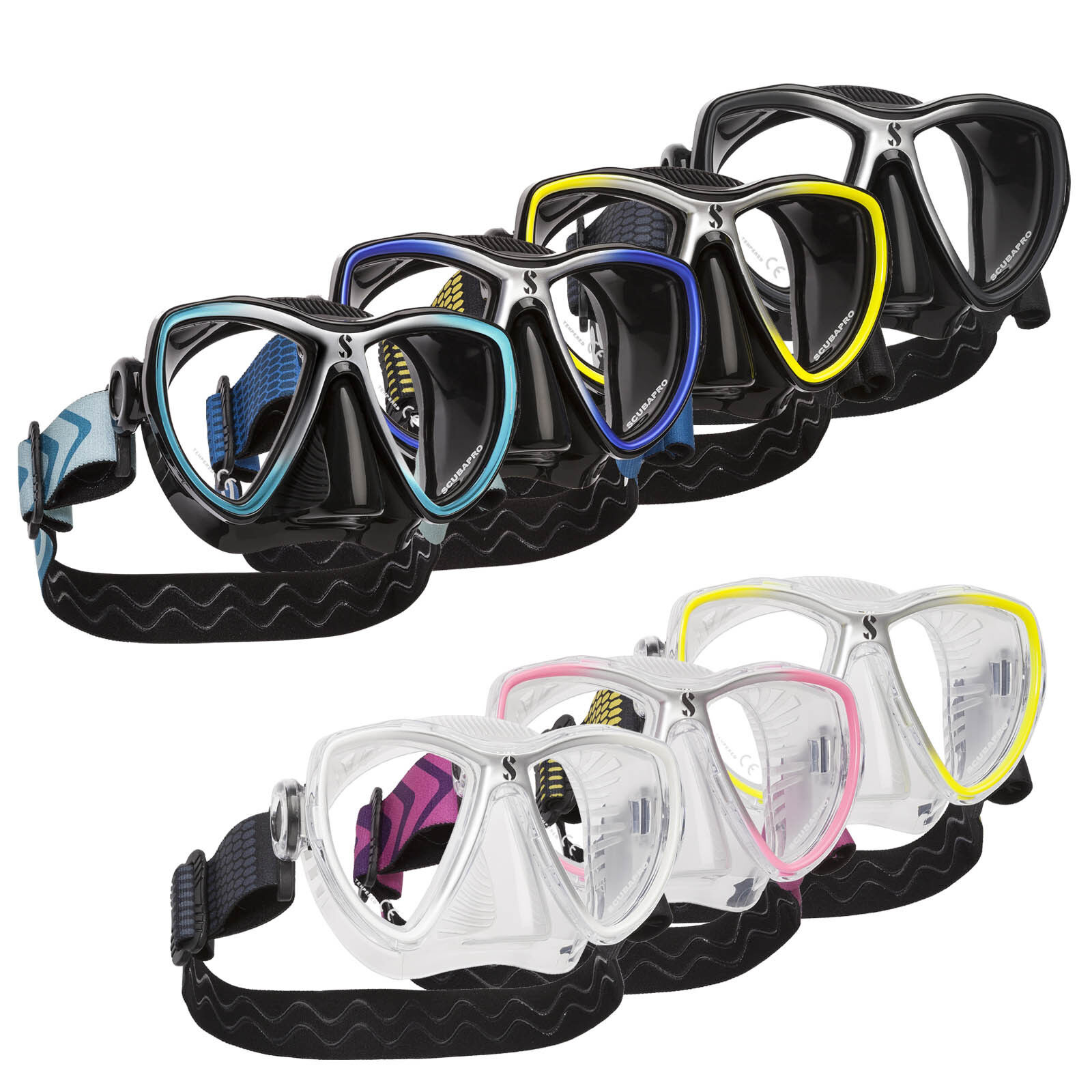 Scubapro Synergy Mini Tauch- en Snorkel Mask voor Narrow Faces