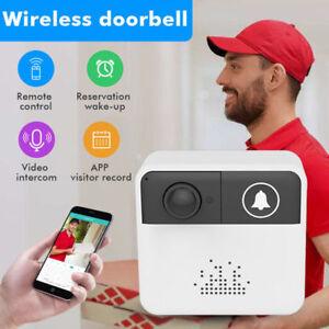 Smart-WiFi-Doorbell-Camera-Ring-Wireless-Intercom-HD-Video-720P-Security-Bell