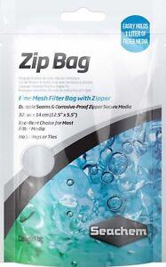 "Seachem Borsa Con Zip 12.5 "" X 5.5 "" Mezzo Filtrante Rete Pet Supplies Usa Convenience Goods Cleaning & Maintenance"