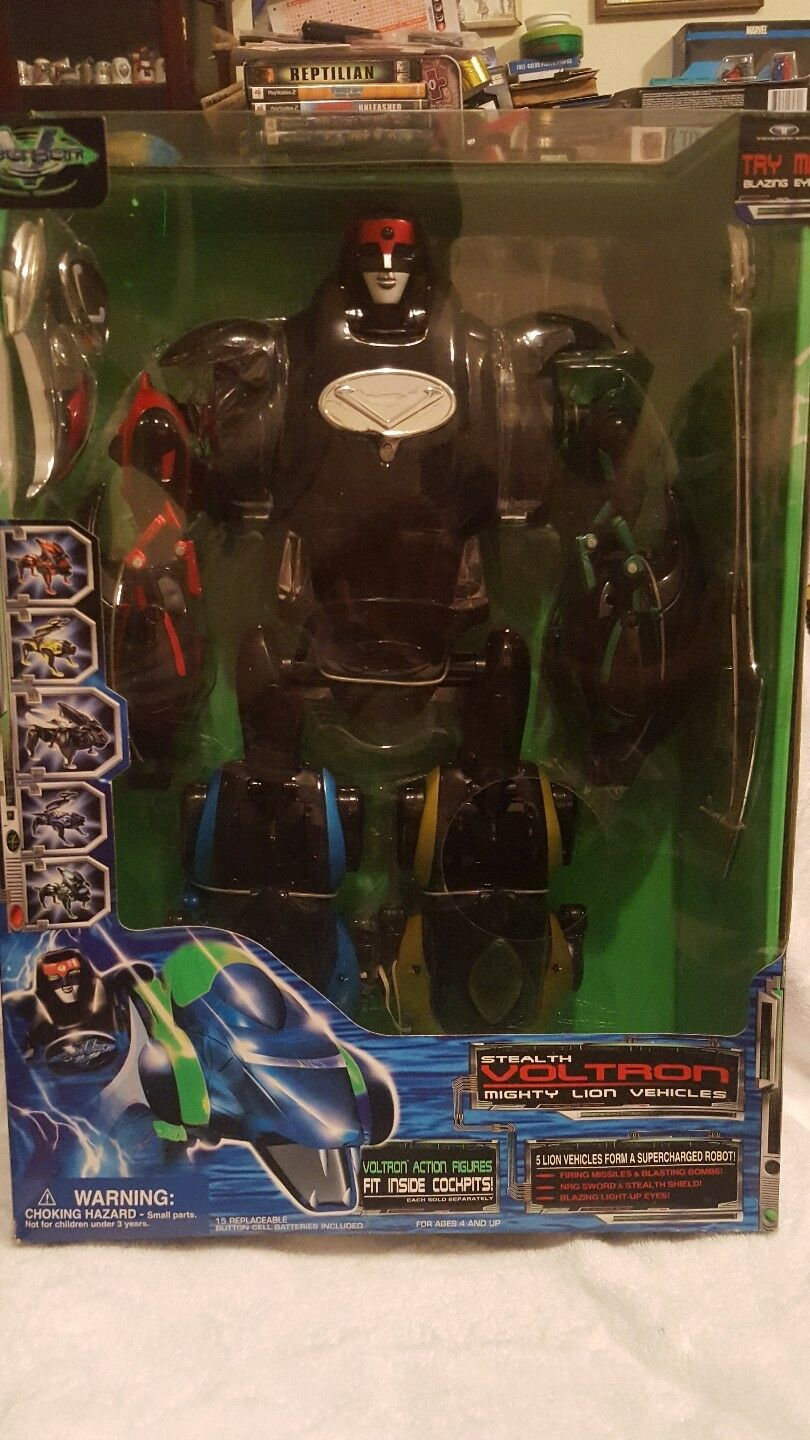Stealth Voltron Mighty Lion Vehicle Vehicle Vehicle 9f7960