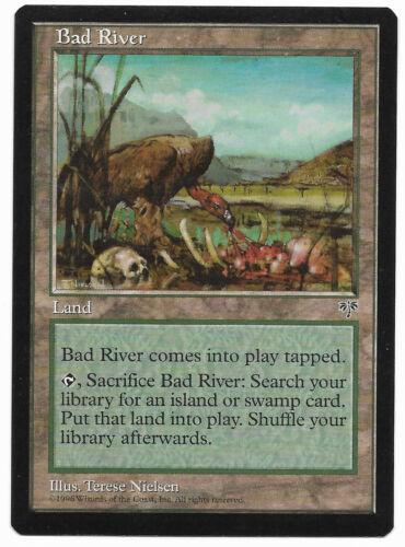MTG Bad River Mirage  Fetch Land