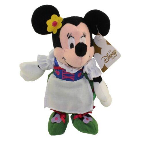 Disney Pelúcia Bean Bag-Globo-de trotadores Minnie Mouse - Estado perfeito 9 polegadas alemão
