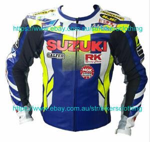 Suzuki Gsxr  Motorcycle Leather Jacket Sports Motorbike Leather Jackets