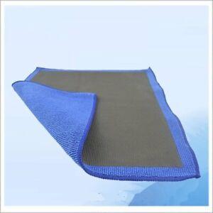 "12""x12"" Clay Bar Microfiber Car Polishing Cloth Detailing Cleaning Towefr90?!"