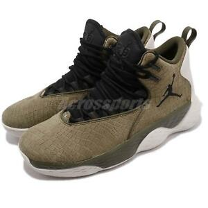 Nike Jordan Super.Fly MVP PF Olive Canvas Black Men Basketball Shoes ... 28d3e2ce88c