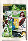 1983 Captain America Annual 7 page 8 Marvel Comics color guide art: 1980's
