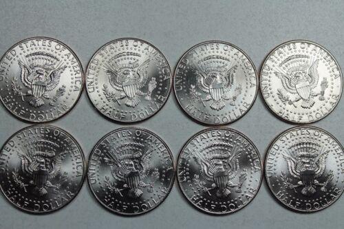 2010 2011 2012 2013 P D Uncirculated Kennedy Half Dollar Mint Roll Set