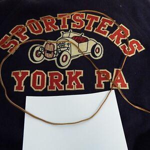 1950 S Car Club Jacket Sportsters York Pa Hot Rod Club Ebay
