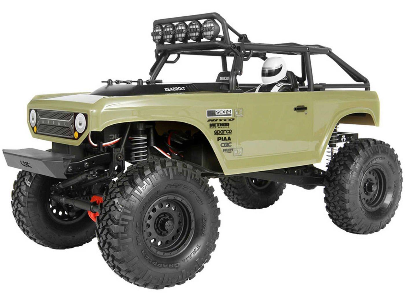 Axial SCX10 Deadbolt 4WD 1 10 RTR-II C-AX90066